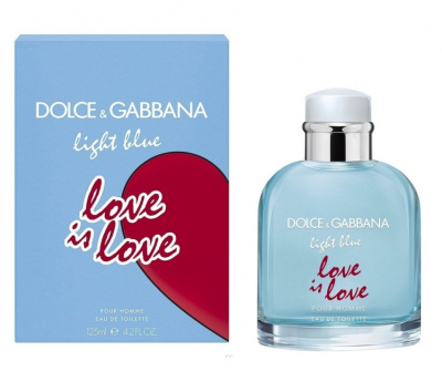 духи Dolce & Gabbana Light Blue Love Is Love Pour Homme
